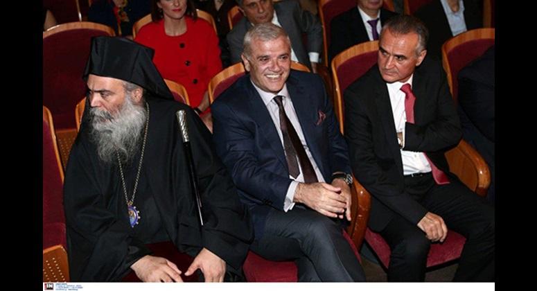 Ο Μητροπολίτης Ανδριανουπόλεως Σεβ. Αμφιλόχιος, ο κ. Δημήτρης Μελισσανίδης και ο βουλευτής κ. Σάββας Αναστασιάδης.