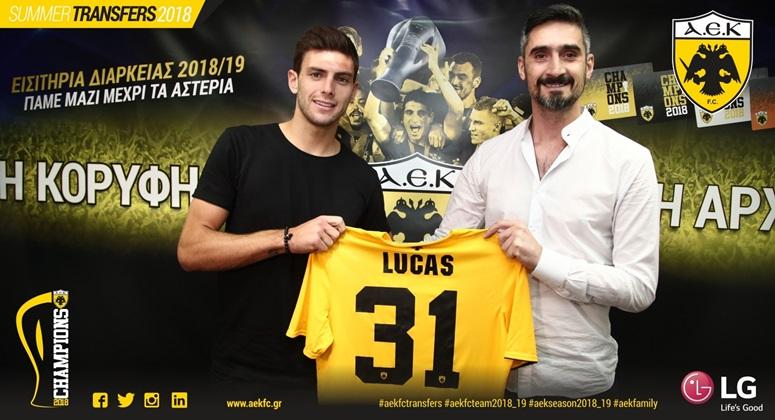 Lucas Boye joins AEK FC   ANNOUNCEMENTS  273551f248e
