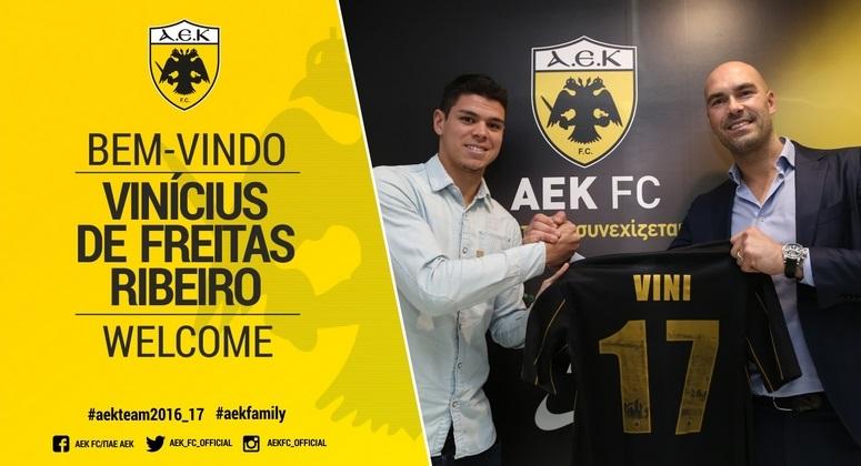 Vinicius joins AEK FC   ANNOUNCEMENTS  9a7cfc4df72