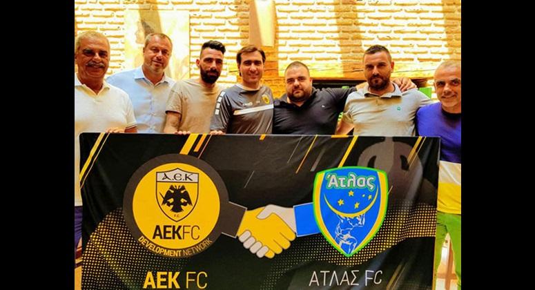Από την επίσκεψη του Ηλία Κυριακίδη στον FC ATLAS στην Πάτρα